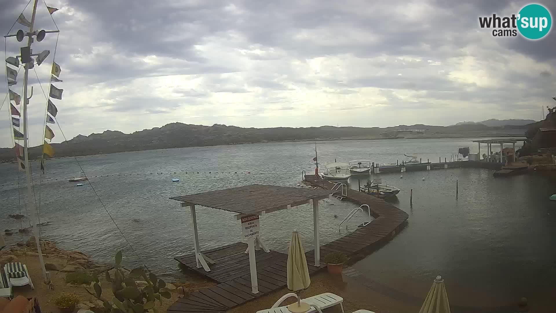 El barco Lo Squalo IV – webcam en directo archipiélago La Maddalena – Cerdeña – Italia