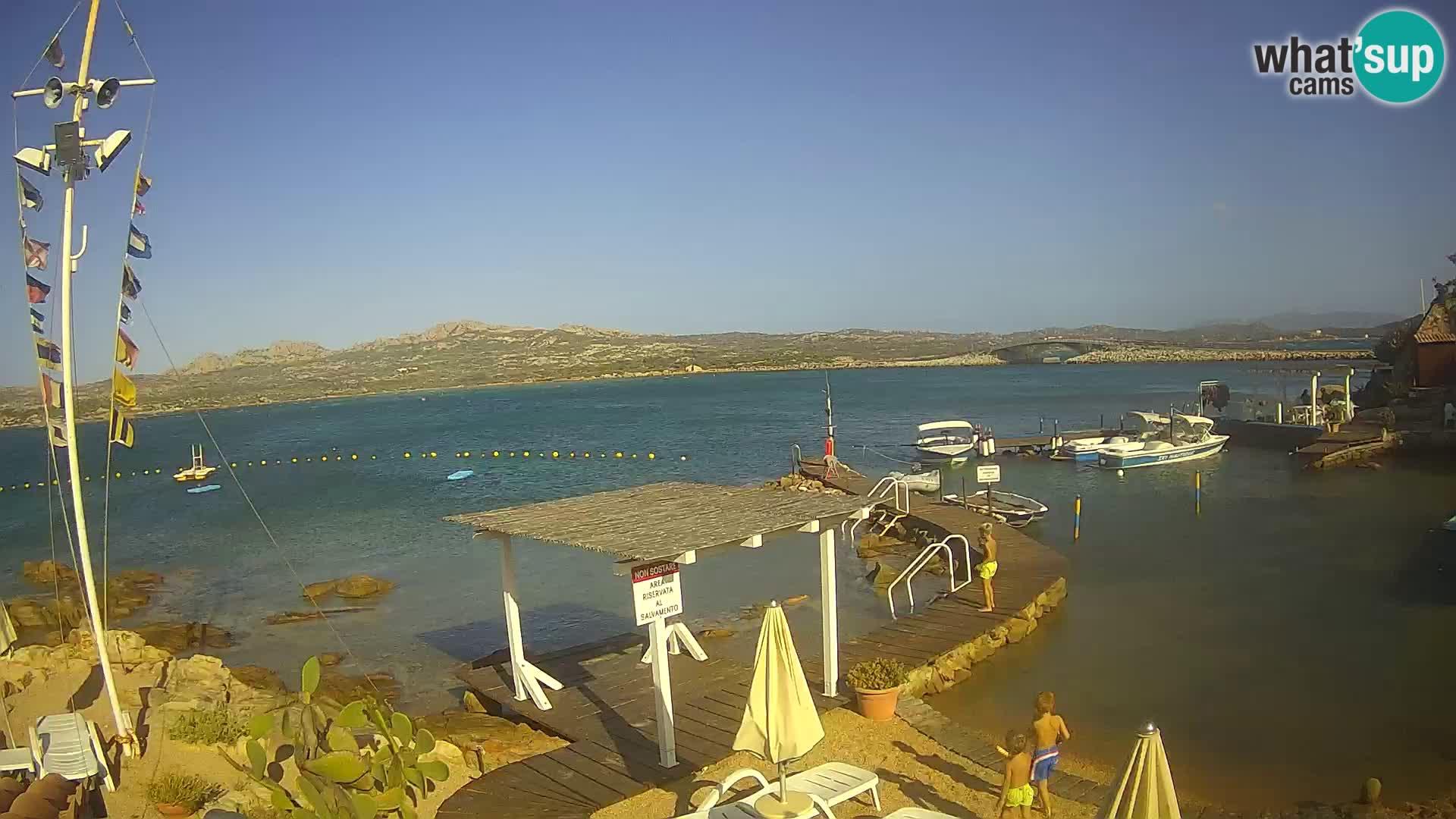 Das Boot Lo Squalo IV – Live Webcam Archipel La Maddalena – Sardinien – Italien