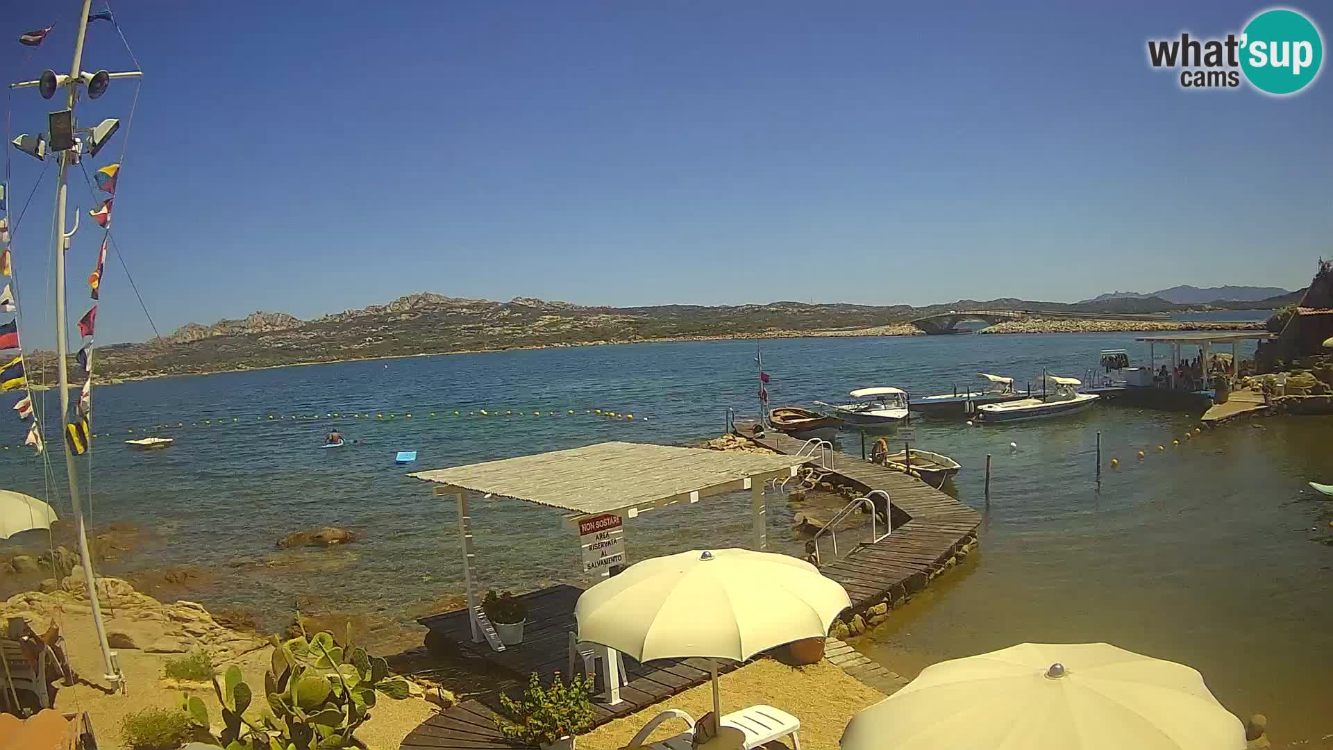 Brod Lo Squalo IV – arhipelag web kamere uživo La Maddalena – Sardinija – Italija
