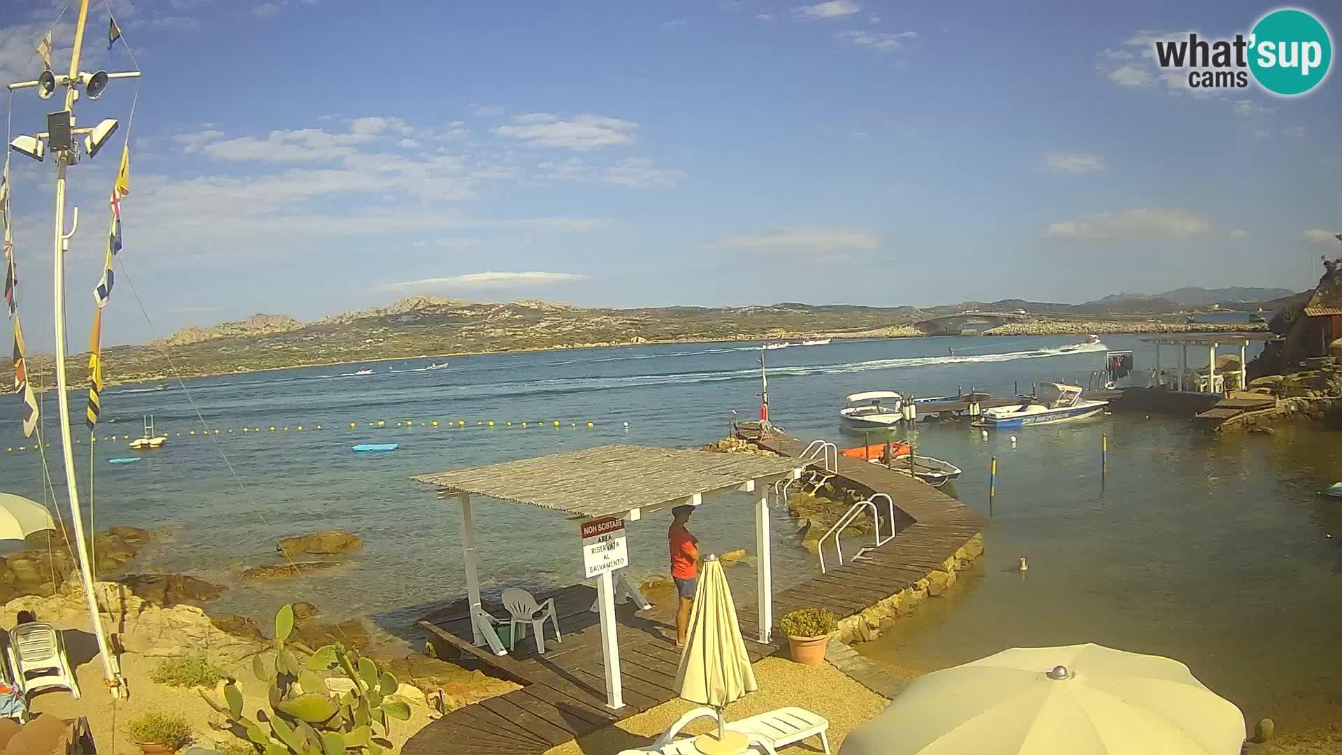 The boat Lo Squalo IV – live webcam arcipelago La Maddalena – Sardinia – Italy