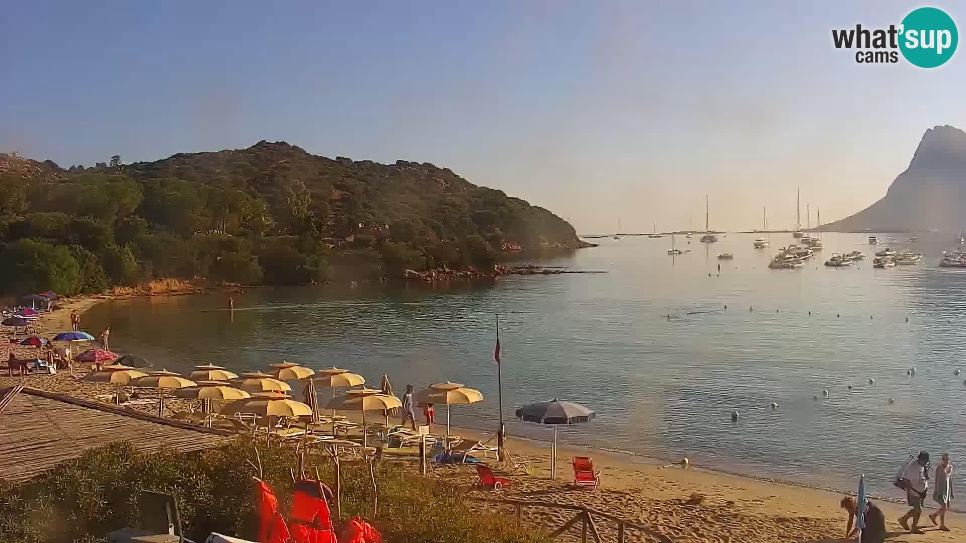 Web kamera Loiri porto San Paolo – Porto Taverna u uživo Sardinija – Italija