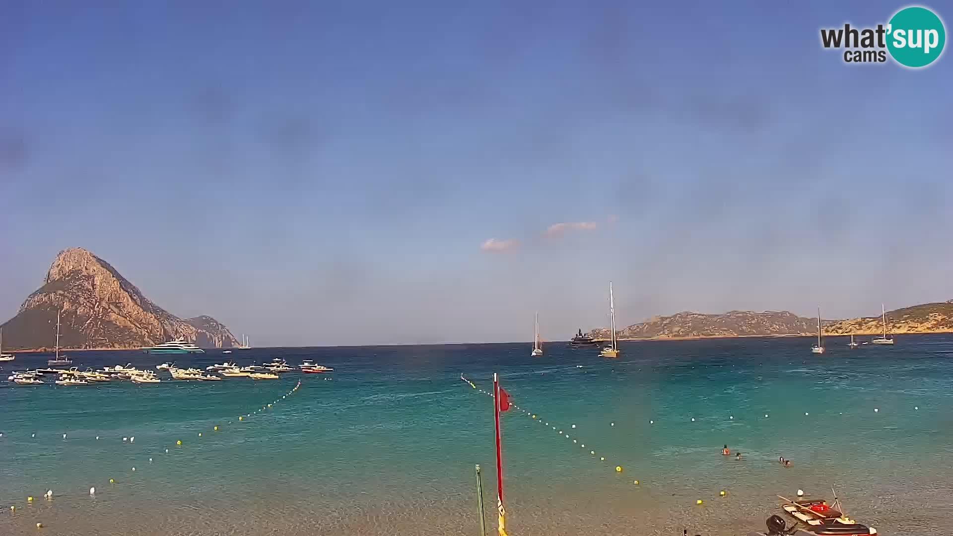 Spletna kamera Loiri porto San Paolo – Porto Taverna v živo Sardinija – Italija