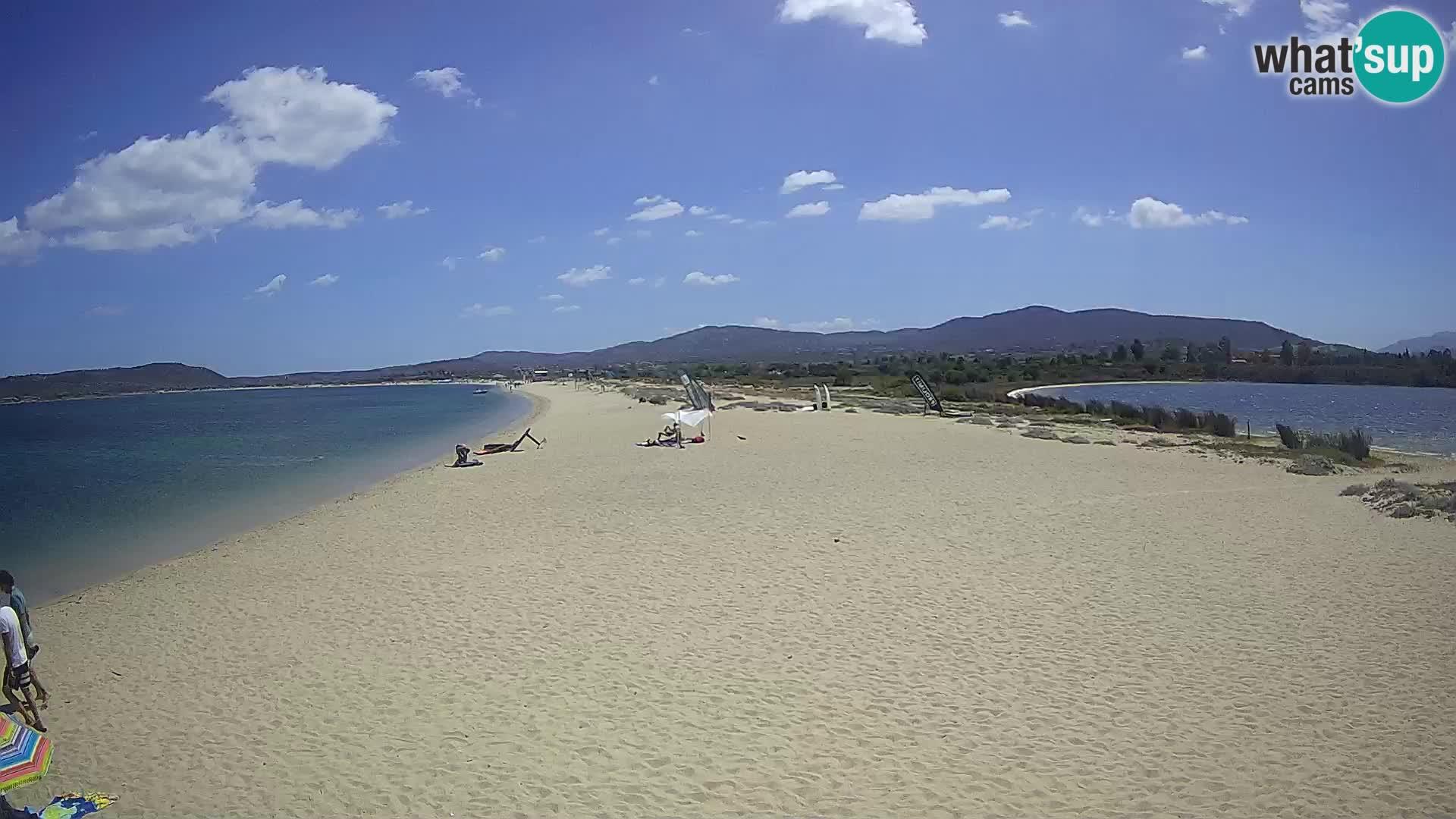Olbia spletna kamera plaža Le Saline – Sardinija – Italija