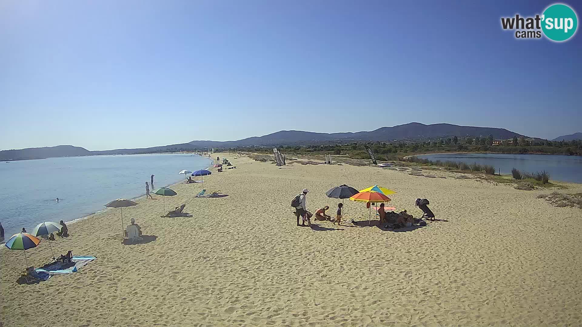 Olbia live webcam spiaggia Le Saline – Sardegna
