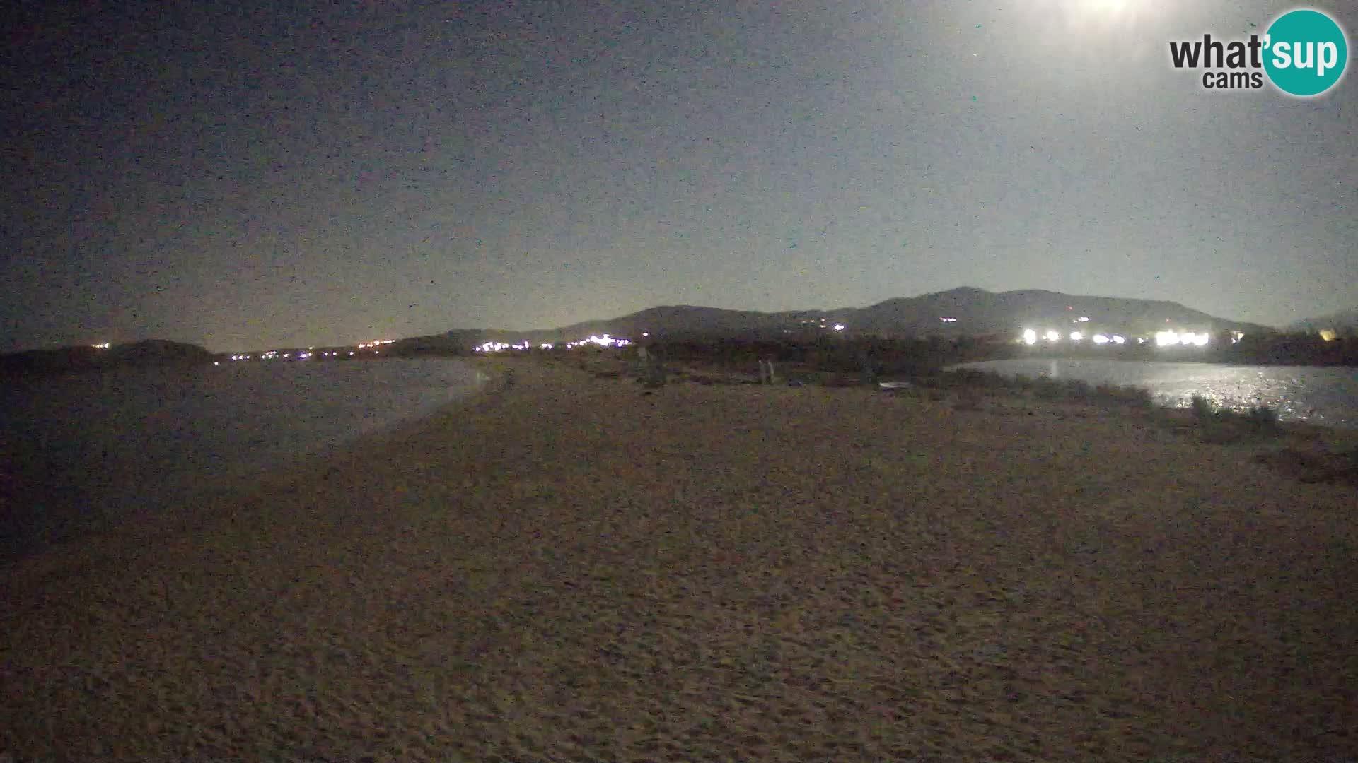 Olbia webcam Le Saline Strand – Sardinien – Italien