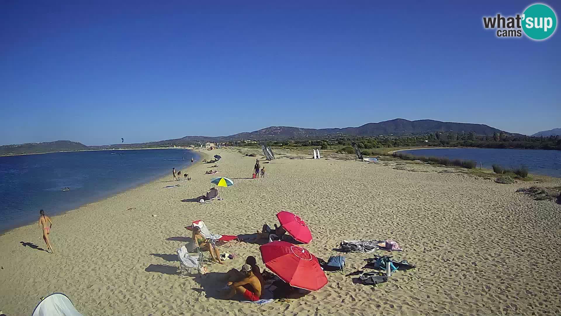 Olbia web kamera plaža Le Saline – Sardinija – Italija