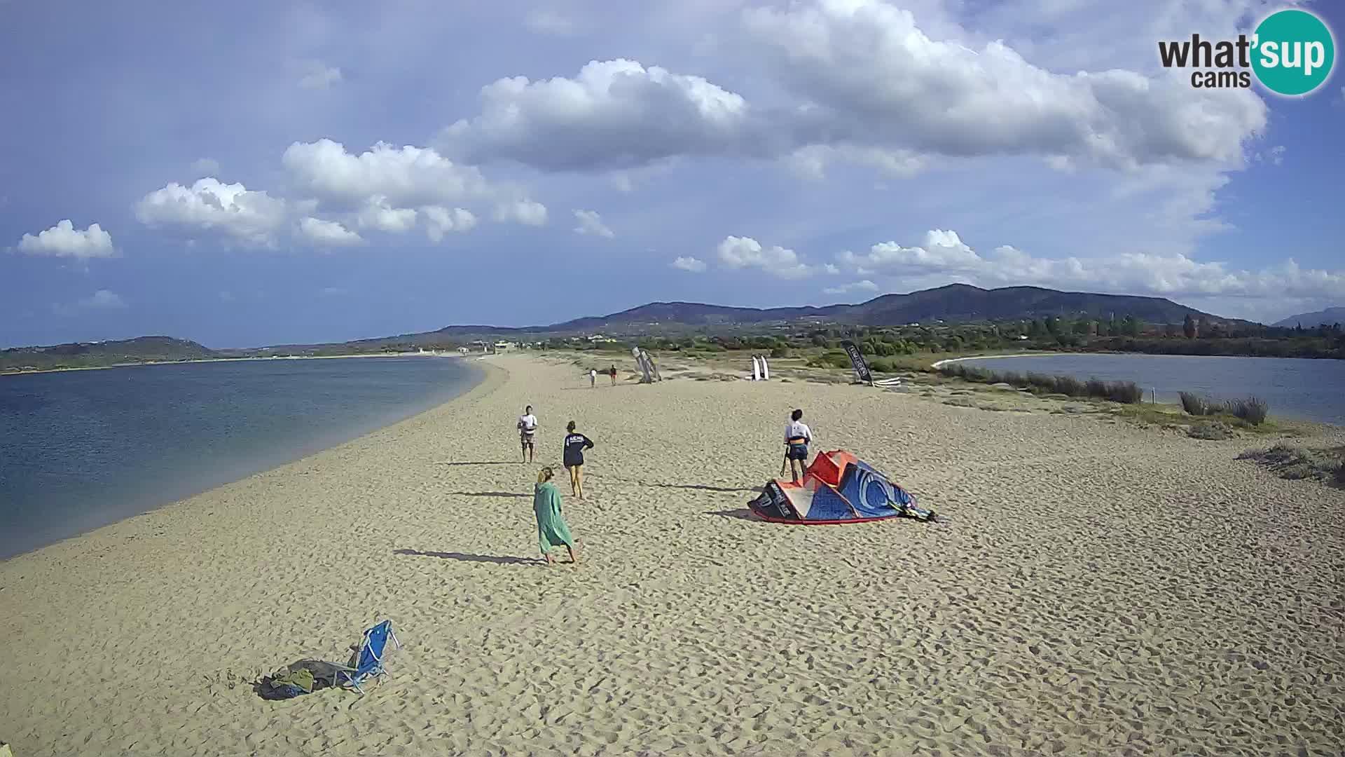 Olbia live webcam Le Saline beach – Sardinia