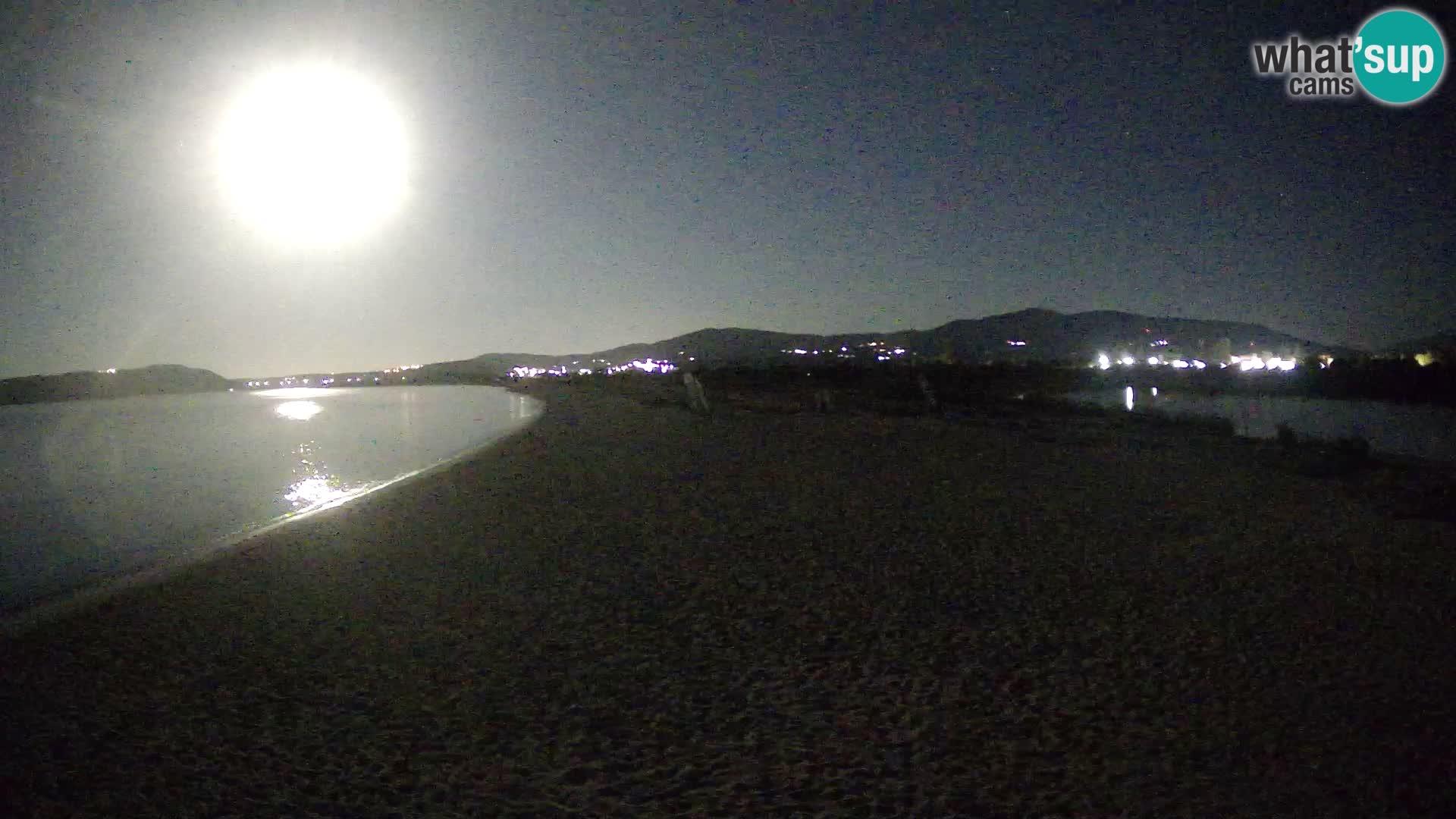 Olbia livecam Le Saline beach – Sardaigne – Italie
