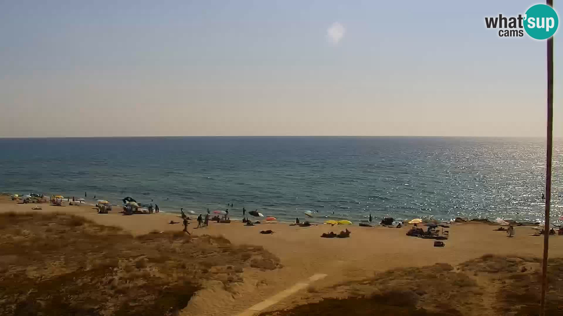 Webcam en directo playa San Giovanni di Sinis – Oristano – Cerdeña Turismo Italia