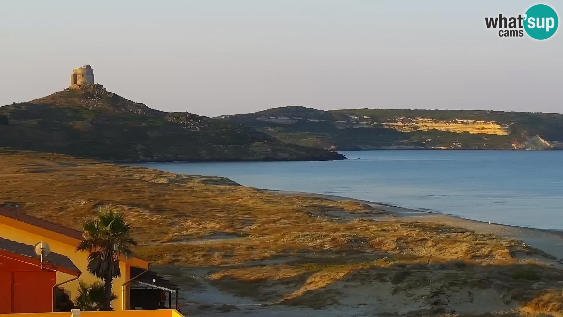 Live Webcam San Giovanni di Sinis beach – Oristano – Sardinia Tourism Italy