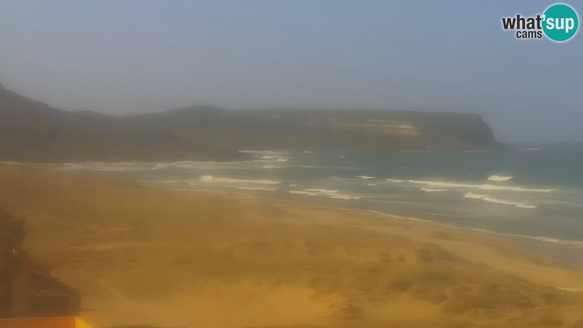 Live Webcam Spiaggia di San Giovanni di Sinis – Oristano – Sardegna Turismo