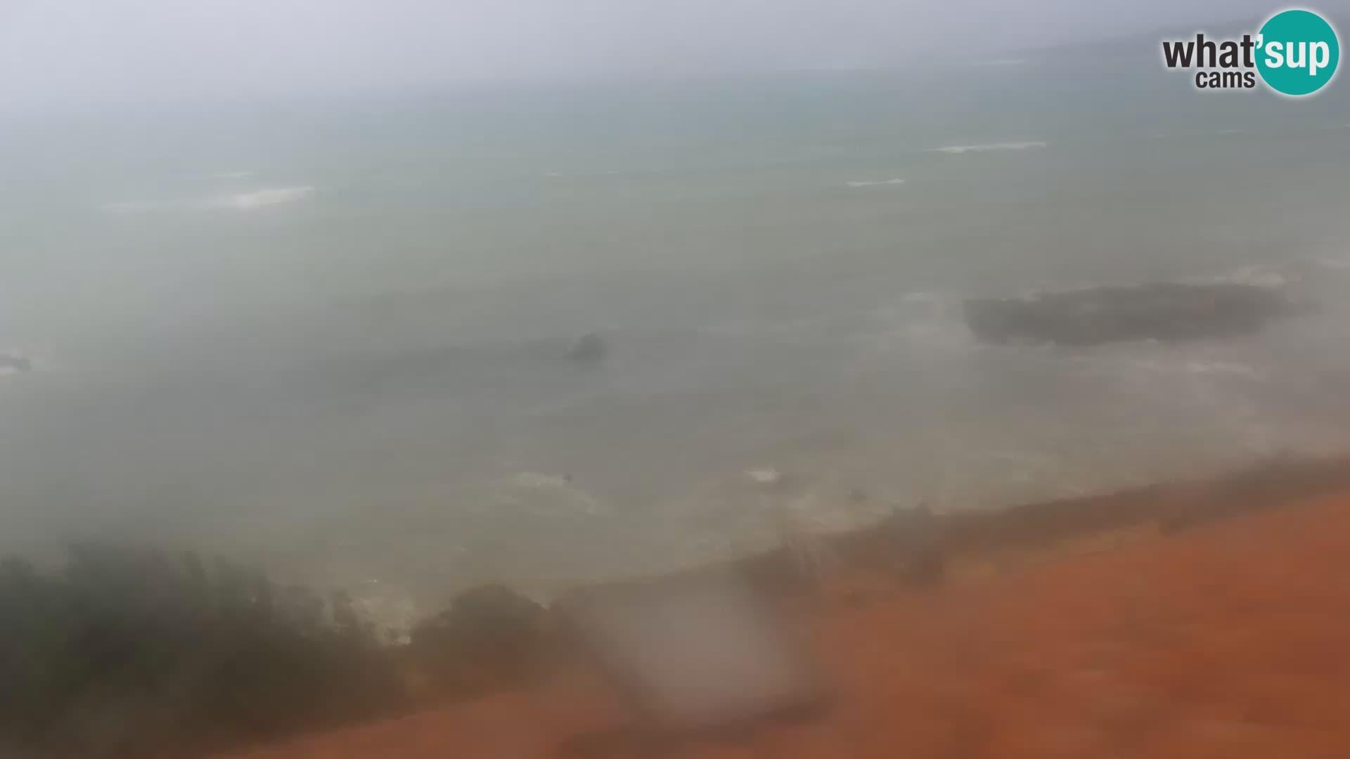 Live Webcam Spiaggia Putzu Idu – Arco di S'Architteddu – Oristano livecam Sardegna
