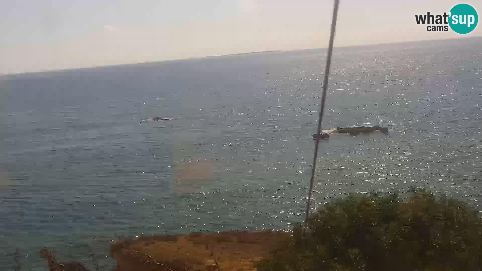 Live Webcam Putzu Idu Strand – Arco di S'Architteddu – Oristano livecam Sardinien – Italien