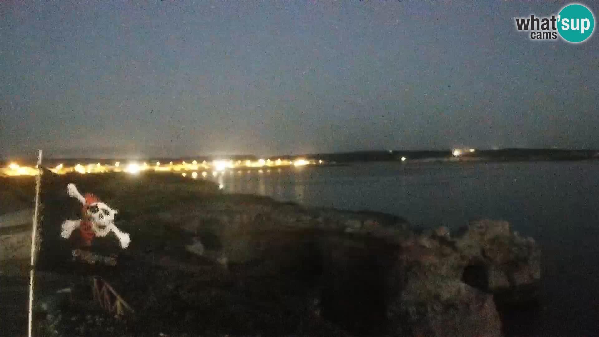 Live Webcam Putzu Idu beach – Arco di S'Architteddu – Oristano livecam Sardinia – Italy