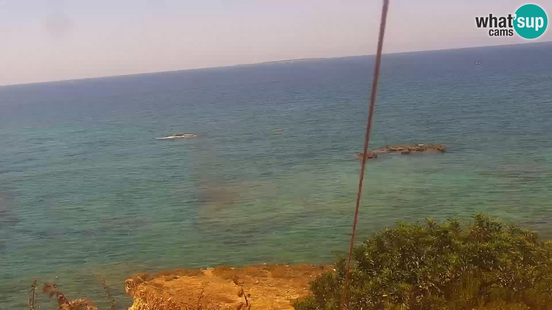 Web kamera uživo Plaža Putzu Idu – Arco di S'Architteddu – Oristano Sardinija – Italija