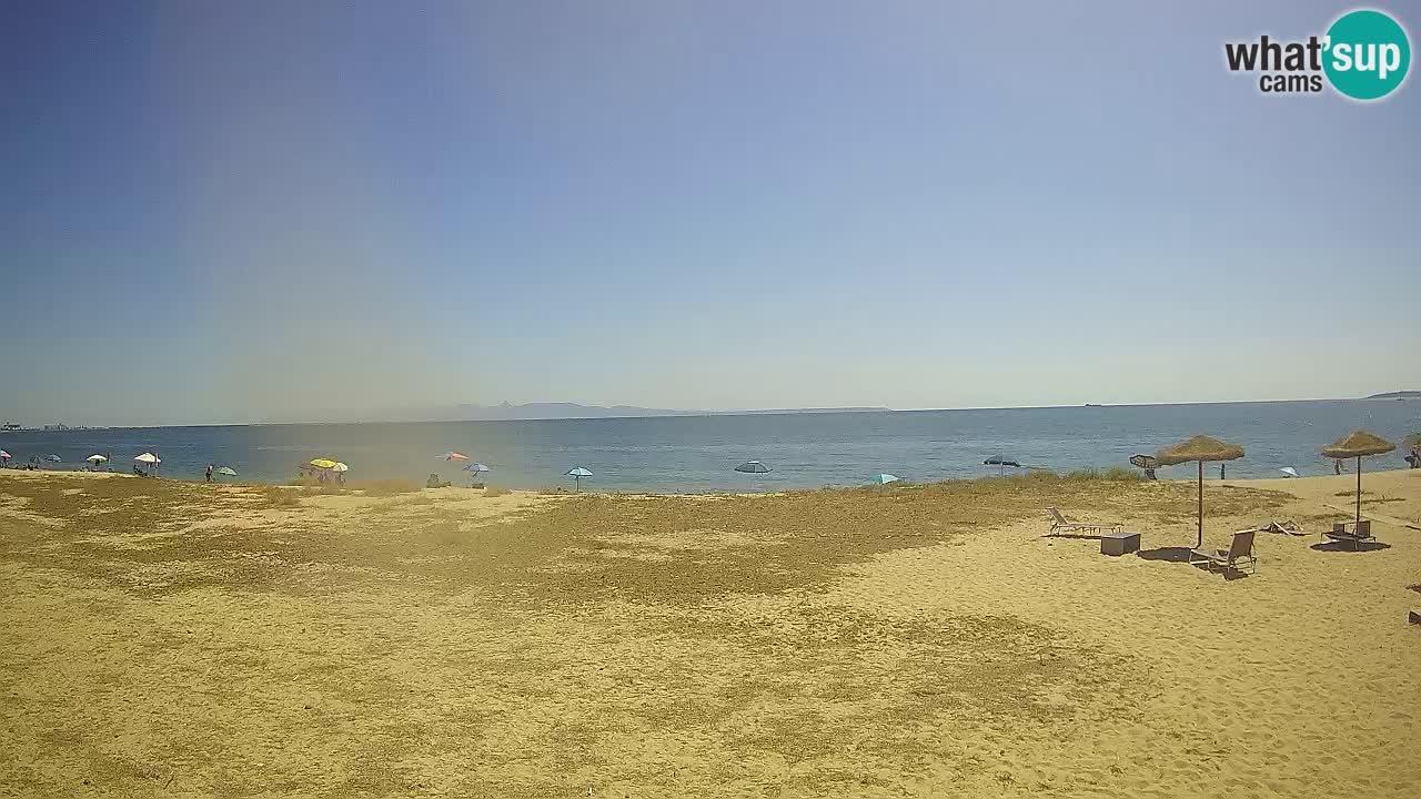Livecam Torre Grande plage Oristano – Sardaigne – Italie