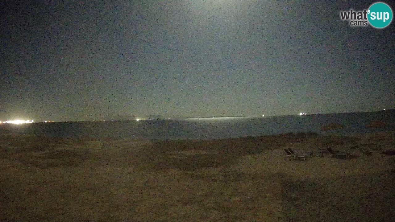 Spletna kamera Torre Grande plaža Oristano – Sardinija – Italija