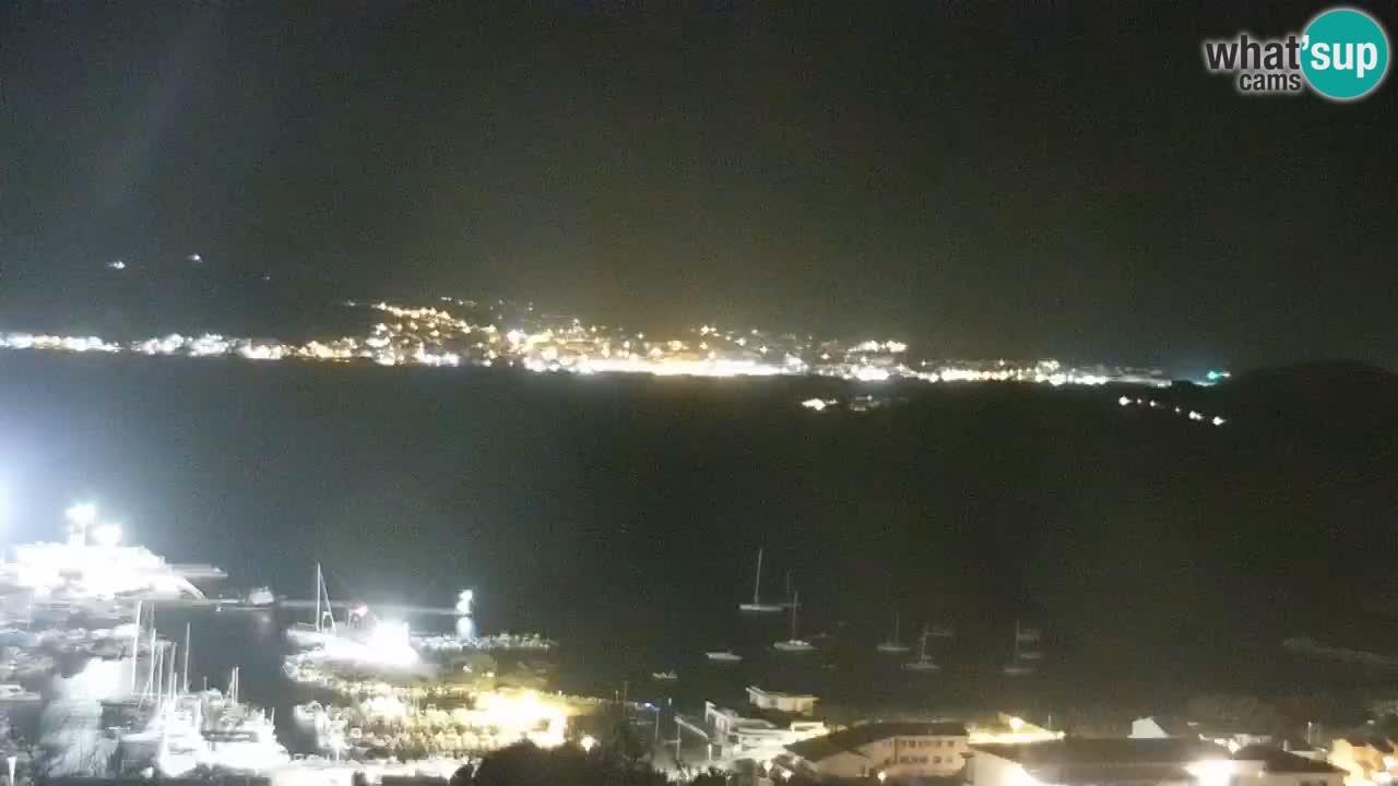 Sardinija u živo web kamera Palau – Panoramski pogled