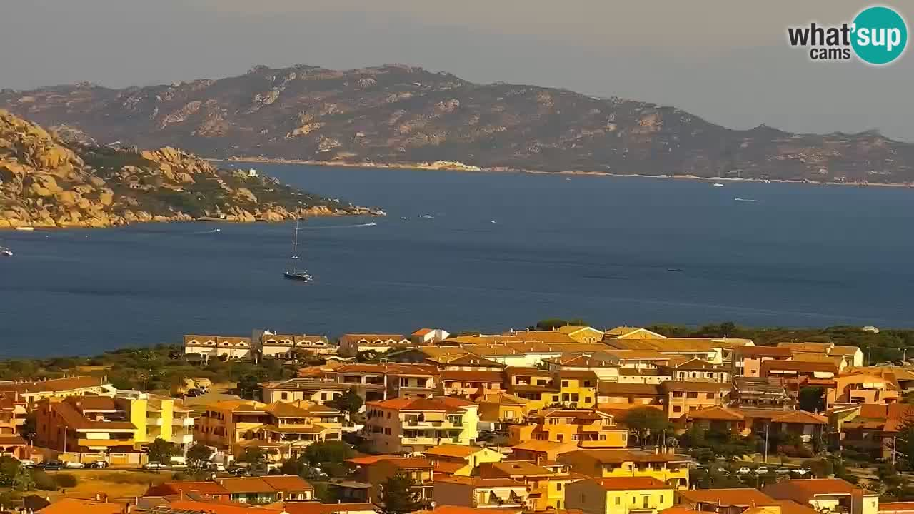 LIVE de la Sardaigne livecam Palau – Superbe panorama