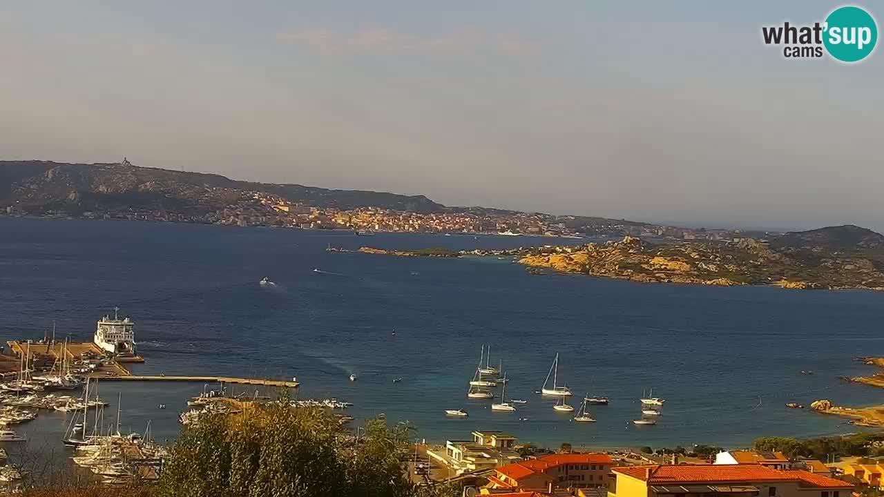 LIVE Sardinien webcam Palau – Panoramablick
