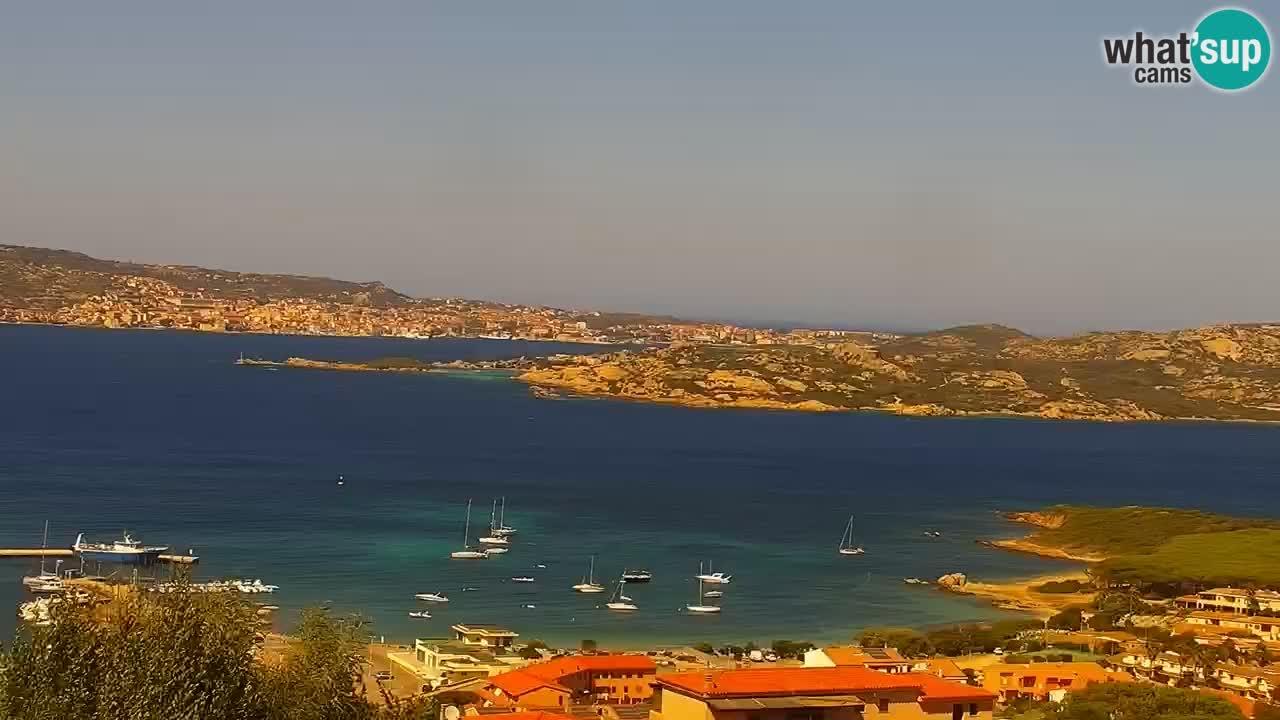 LIVE Sardinia Webcam Palau – Panoramic View