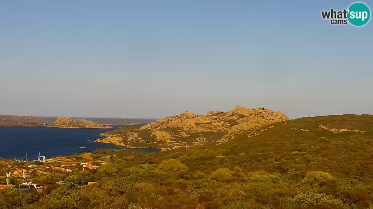 LIVE Sardegna webcam Palau – Stupendo panorama
