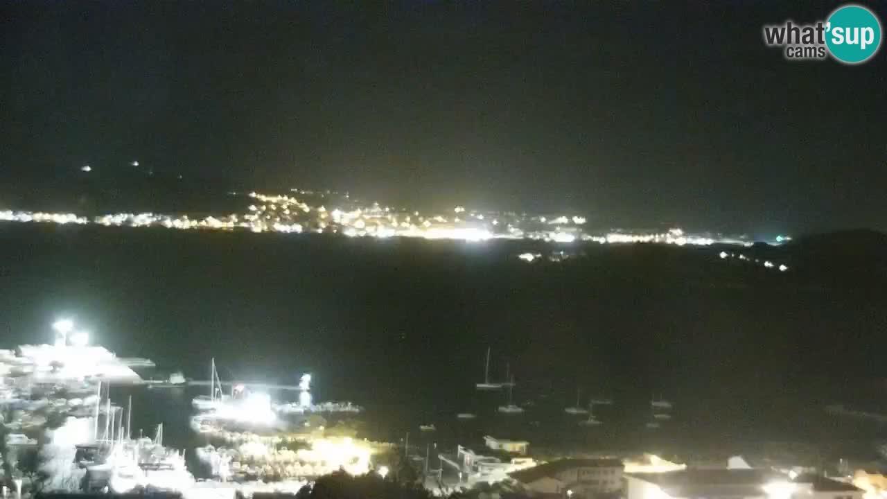 LIVE Sardinia webcam Palau – Panorama impresionante
