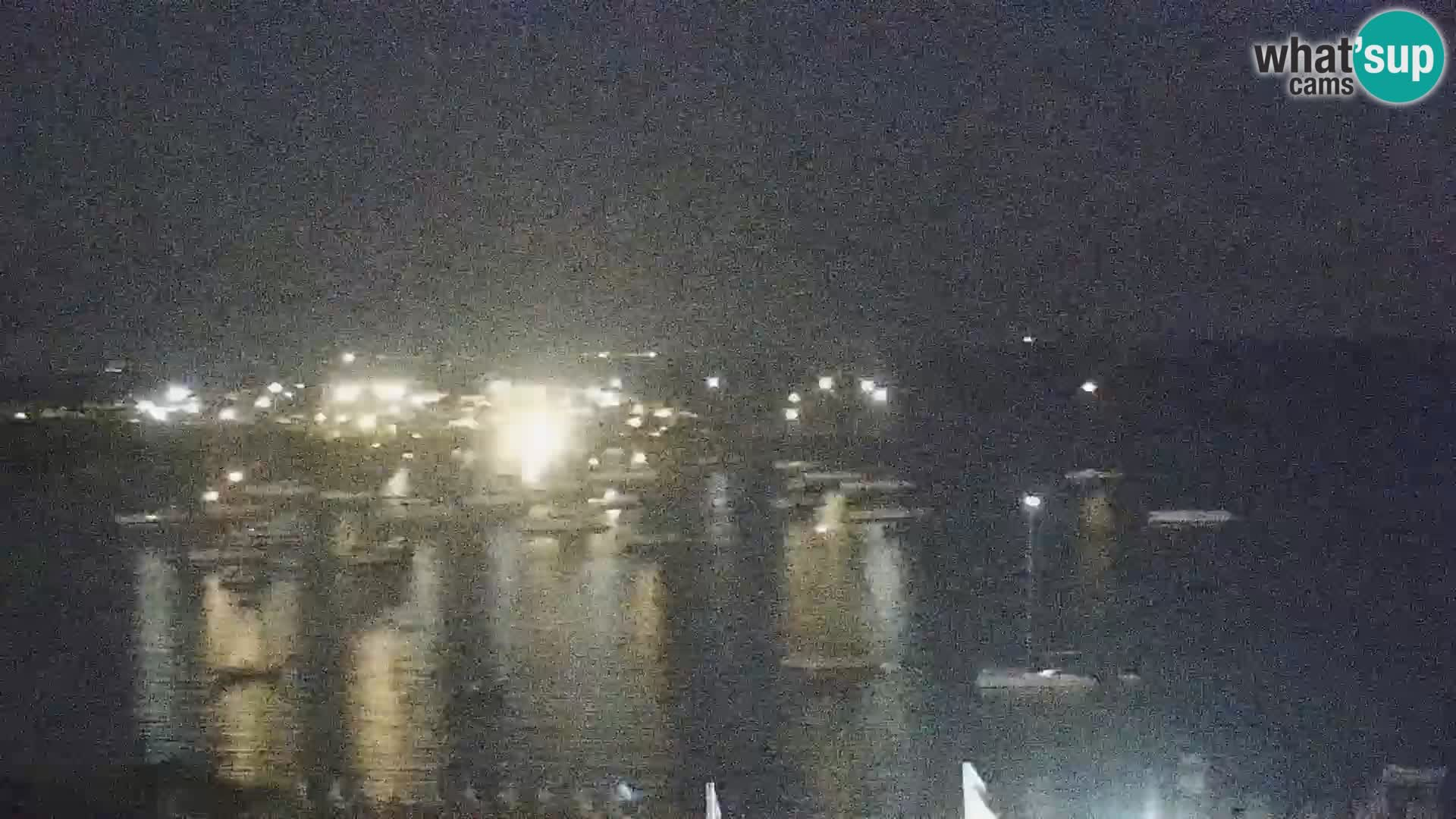 Live webcam Porto Pollo beach Sardinia livecam