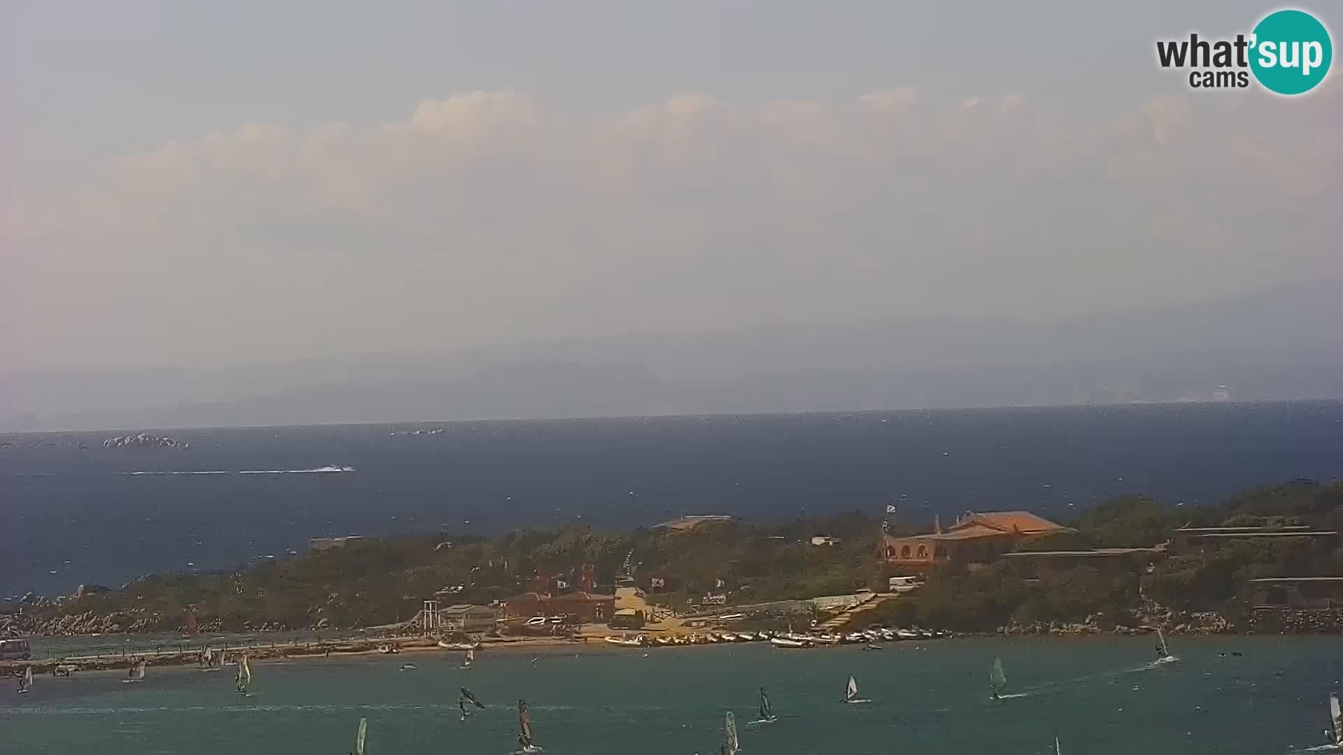 Webcam Strand Porto Pollo Sardinien live kamera