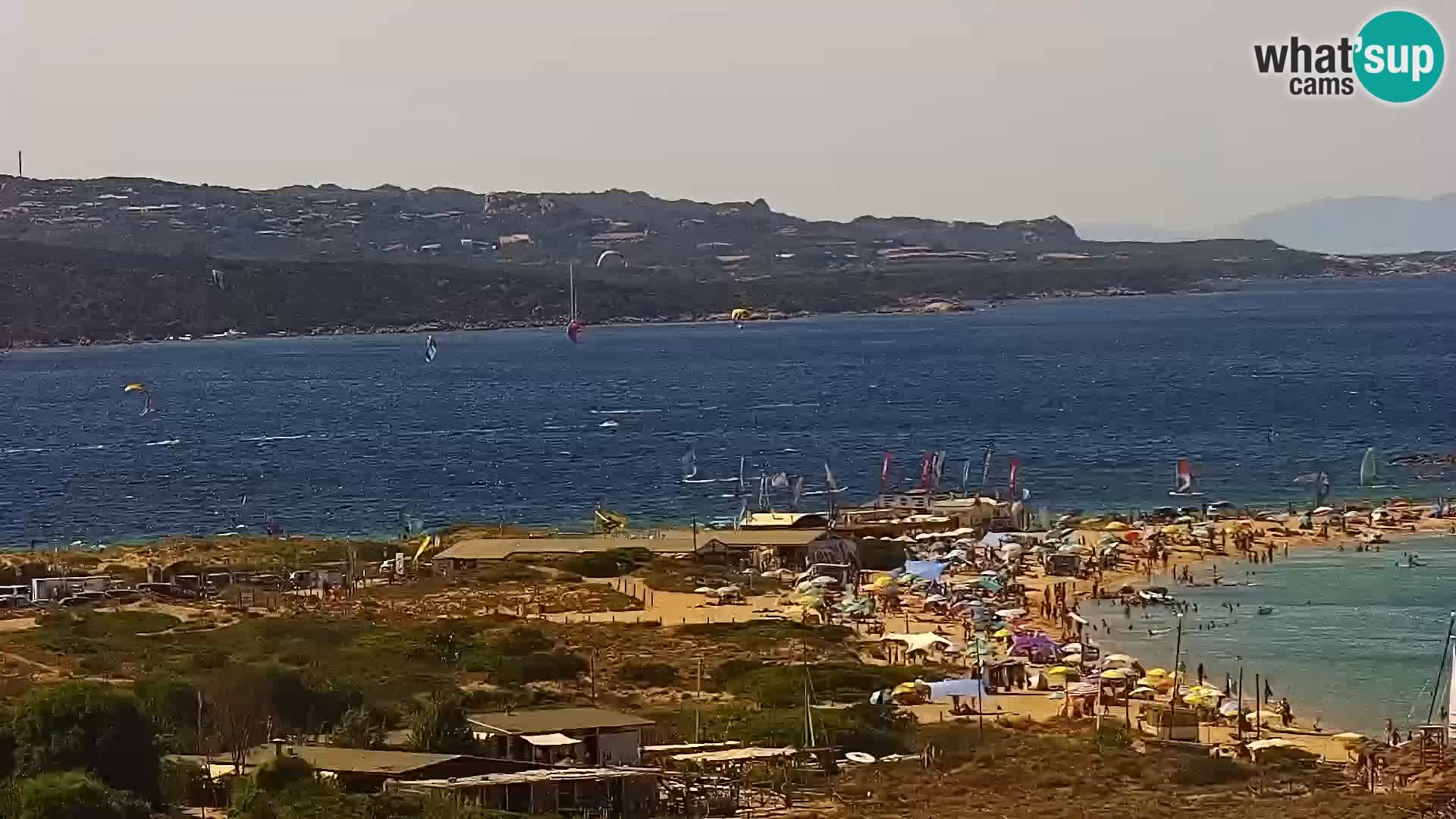 Webcam Porto Pollo spiaggia Sardegna livecam