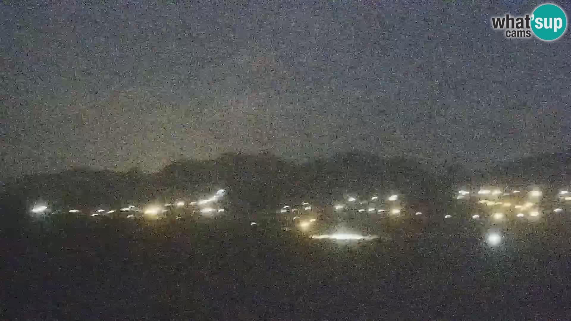 Spletna kamera plaža Porto Pollo Sardinija v živo