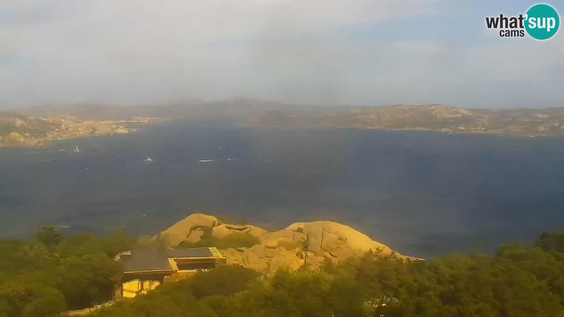 Punta Sardegna kamera v živo la Vedetta – Palau – Maddalena – Sardinija