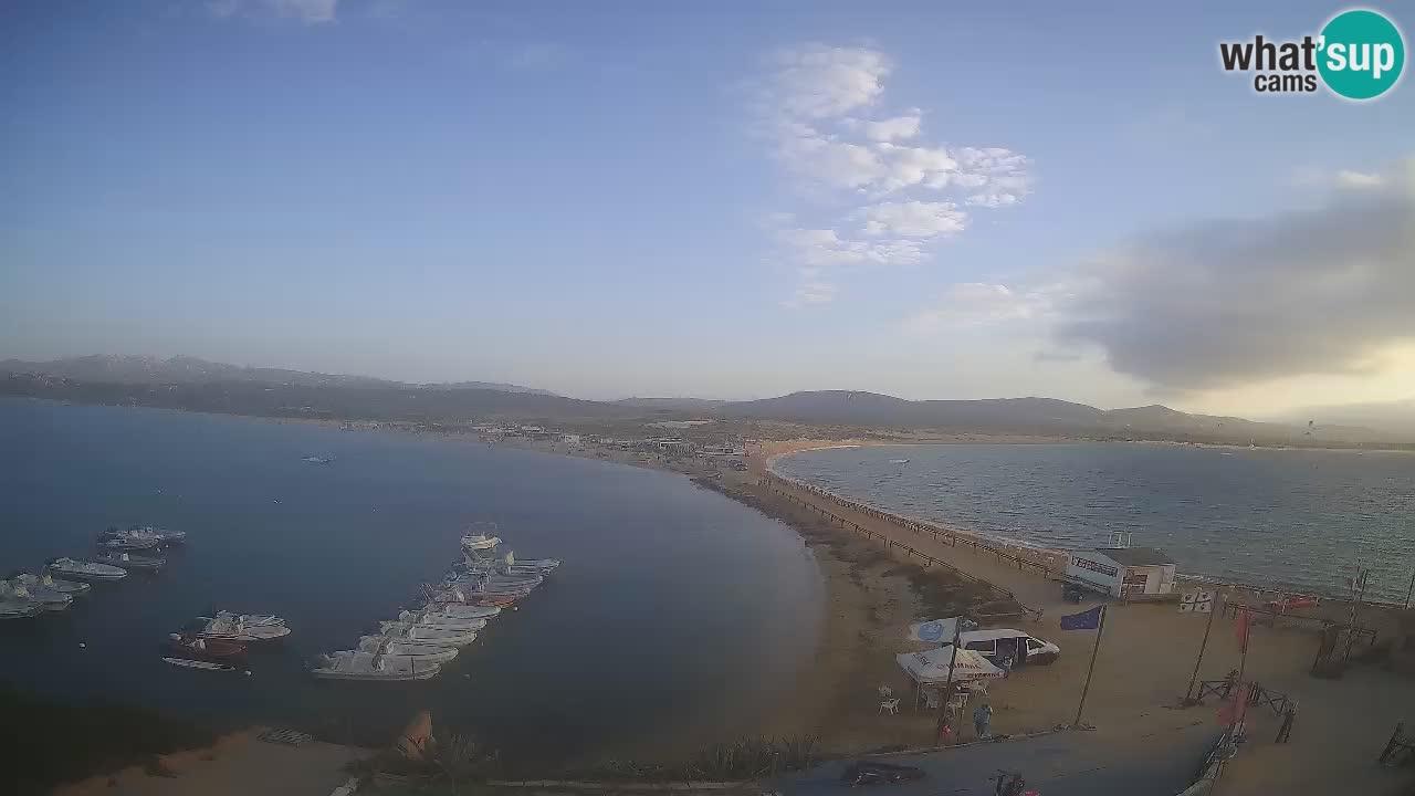 Livecam l'Isuledda – Isola dei Gabbiani – Porto Pollo – Palau – Sardaigne – Italie