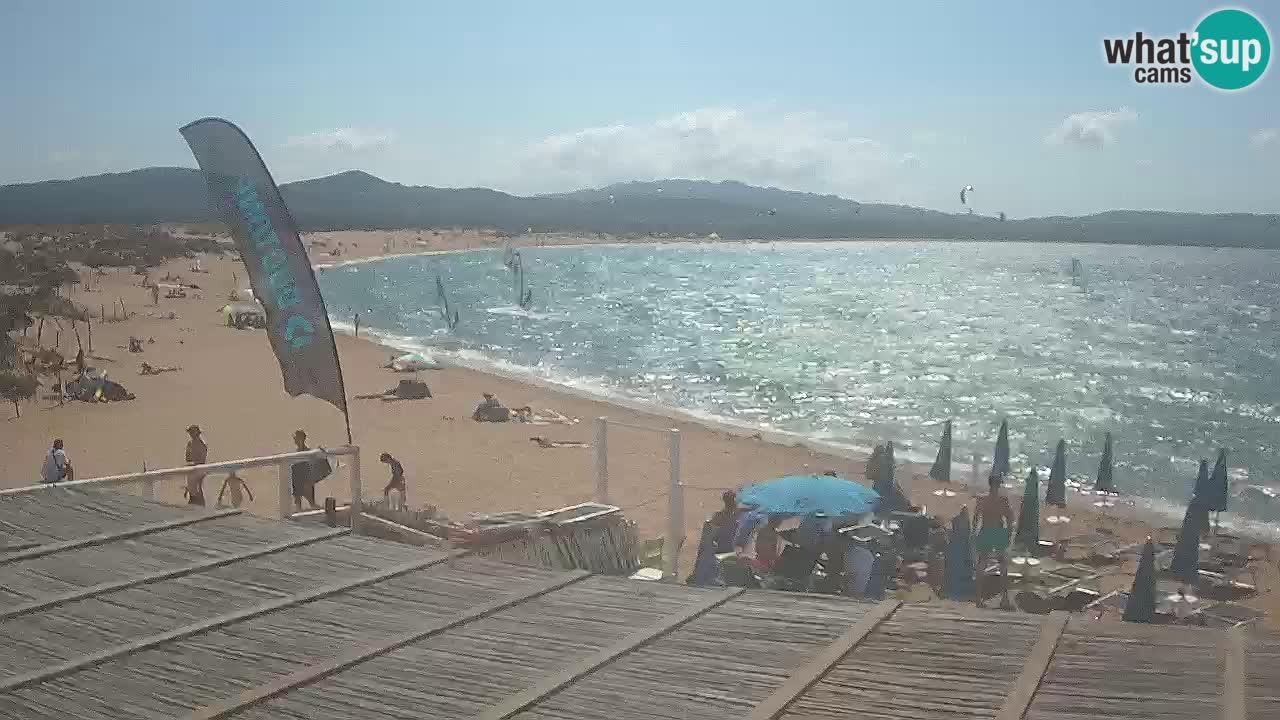 Web Kamera Isola dei Gabbiani – Wind bar – Porto Pollo – Palau – Sardinja – Italija
