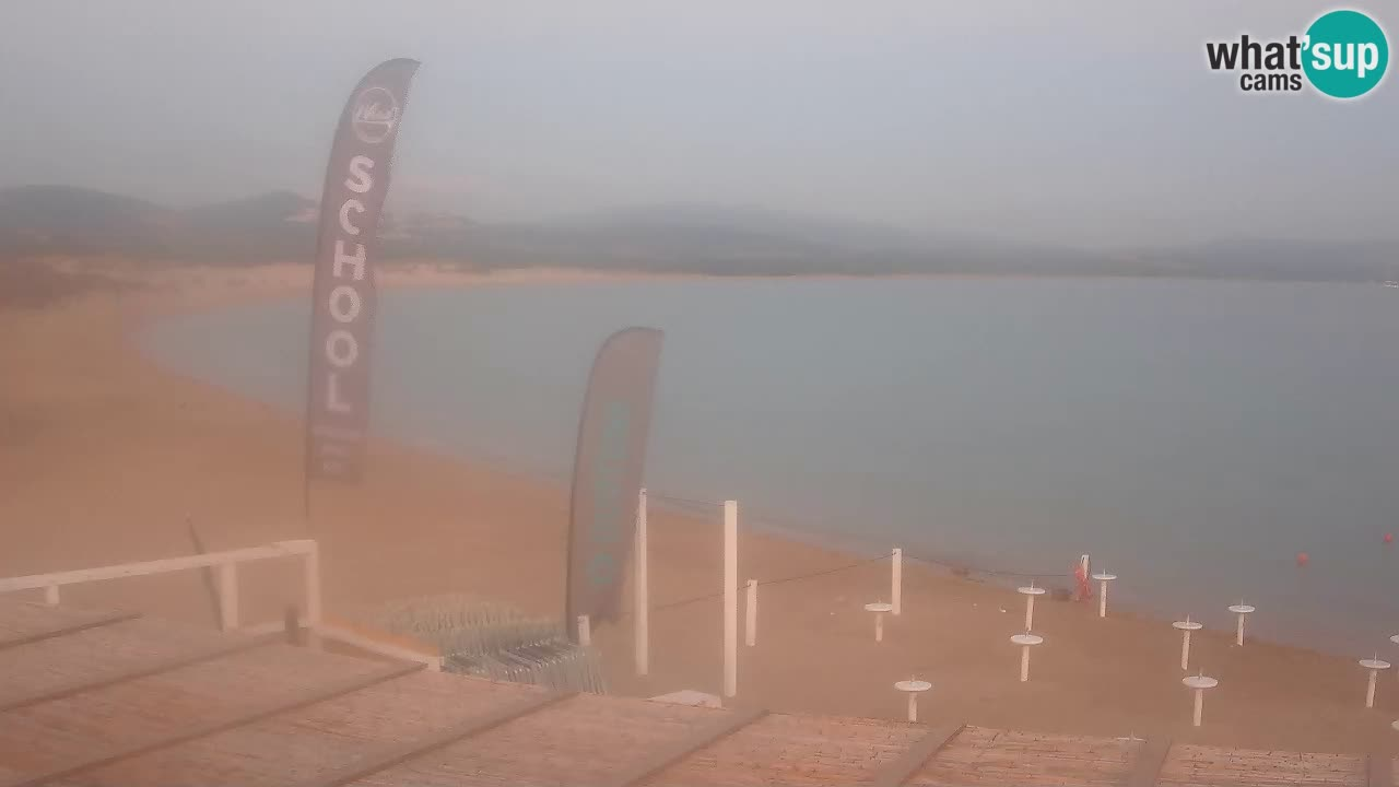 Isuledda v živo Porto Pollo – Isola dei Gabbiani – Kitesurf side – Palau – Sardinija – Italija
