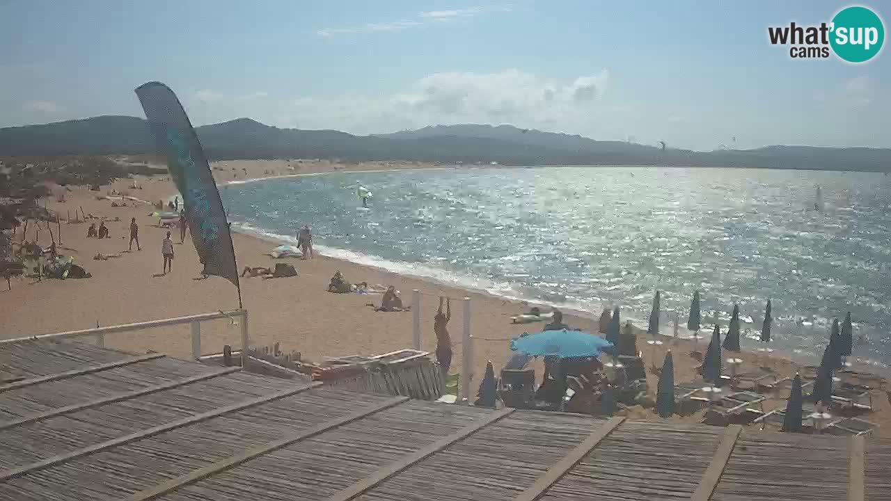 Isuledda webcam Porto Pollo Isola dei Gabbiani – Kitesurf Side – Palau – Sardaigne – Italie