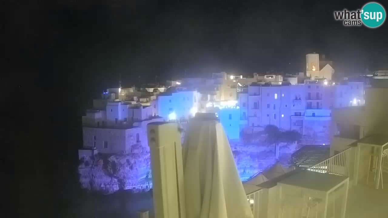 Web kamera Polignano – Panorama iz Malù b&b