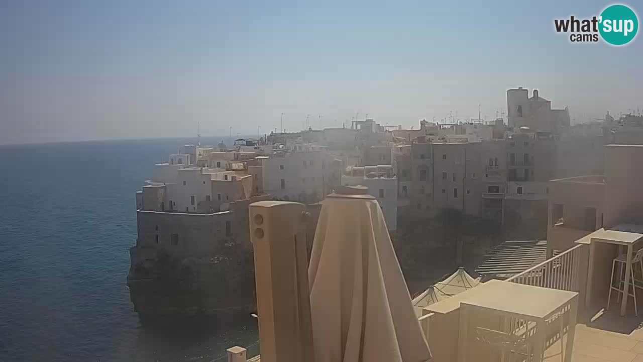 Webcam Polignano – View from Malù b&b