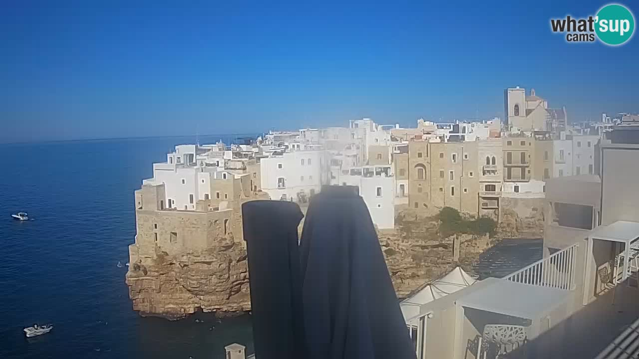 Webcam Polignano – Panorama de Malù b&b