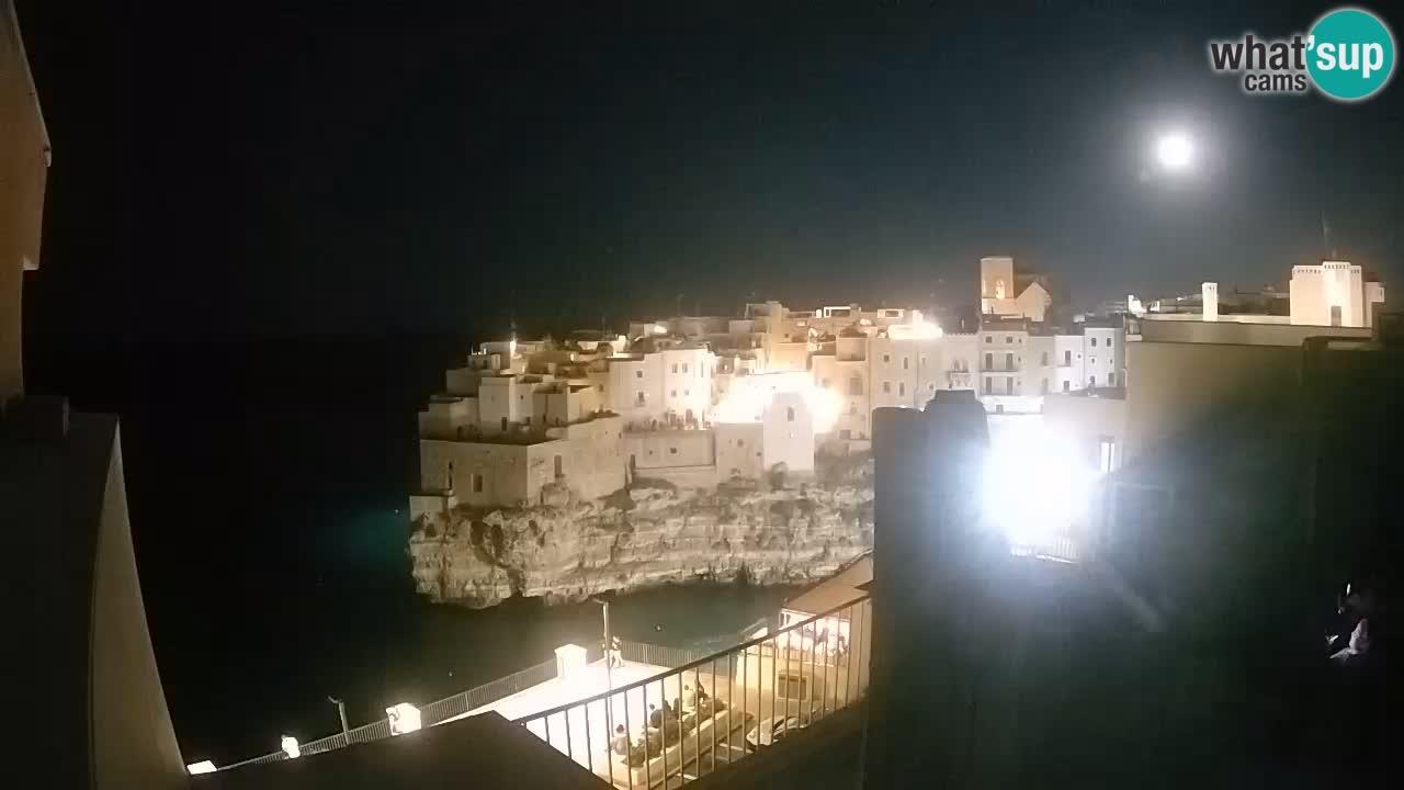 Webcam Polignano – Panorama dal Malù b&b