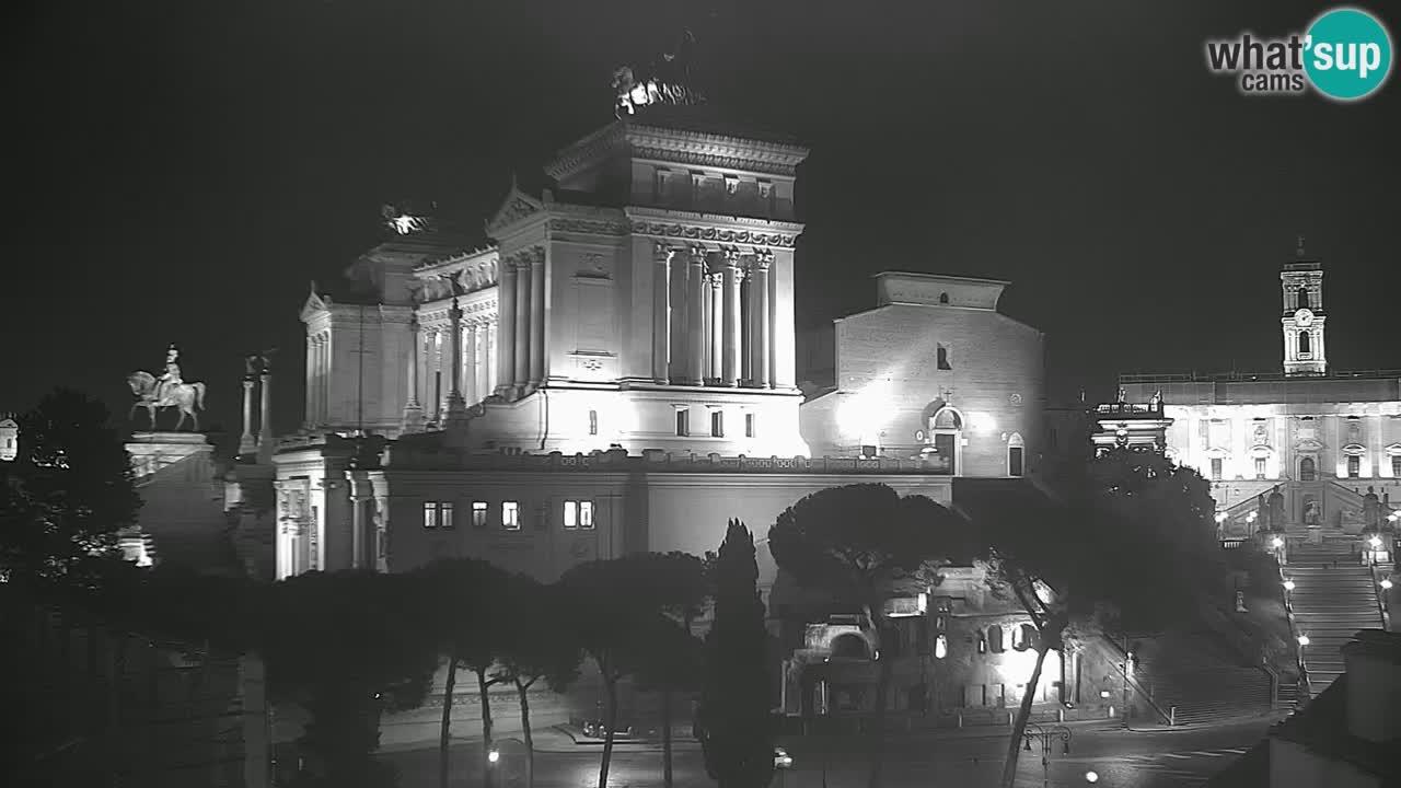 Roma Livecam – Vittoriano webcam – Altare della Patria