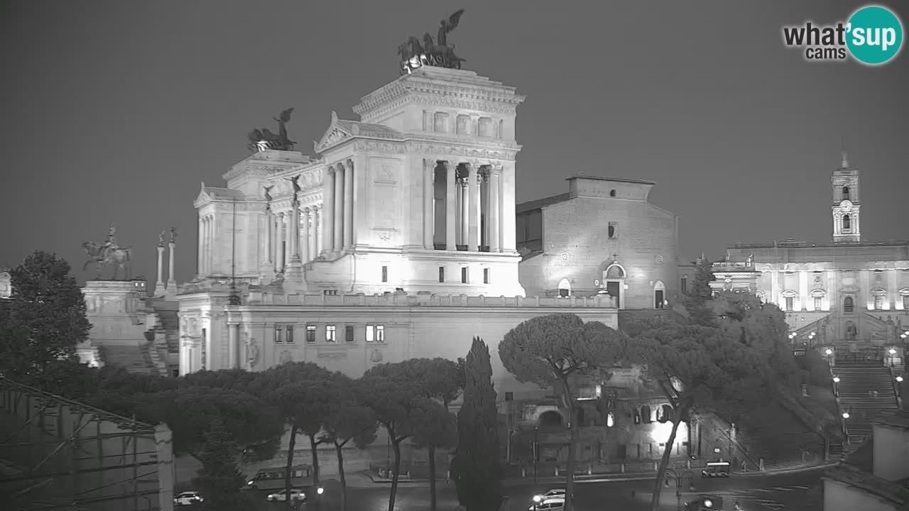 Rim Web kamera – Vittoriano – Altare della patria