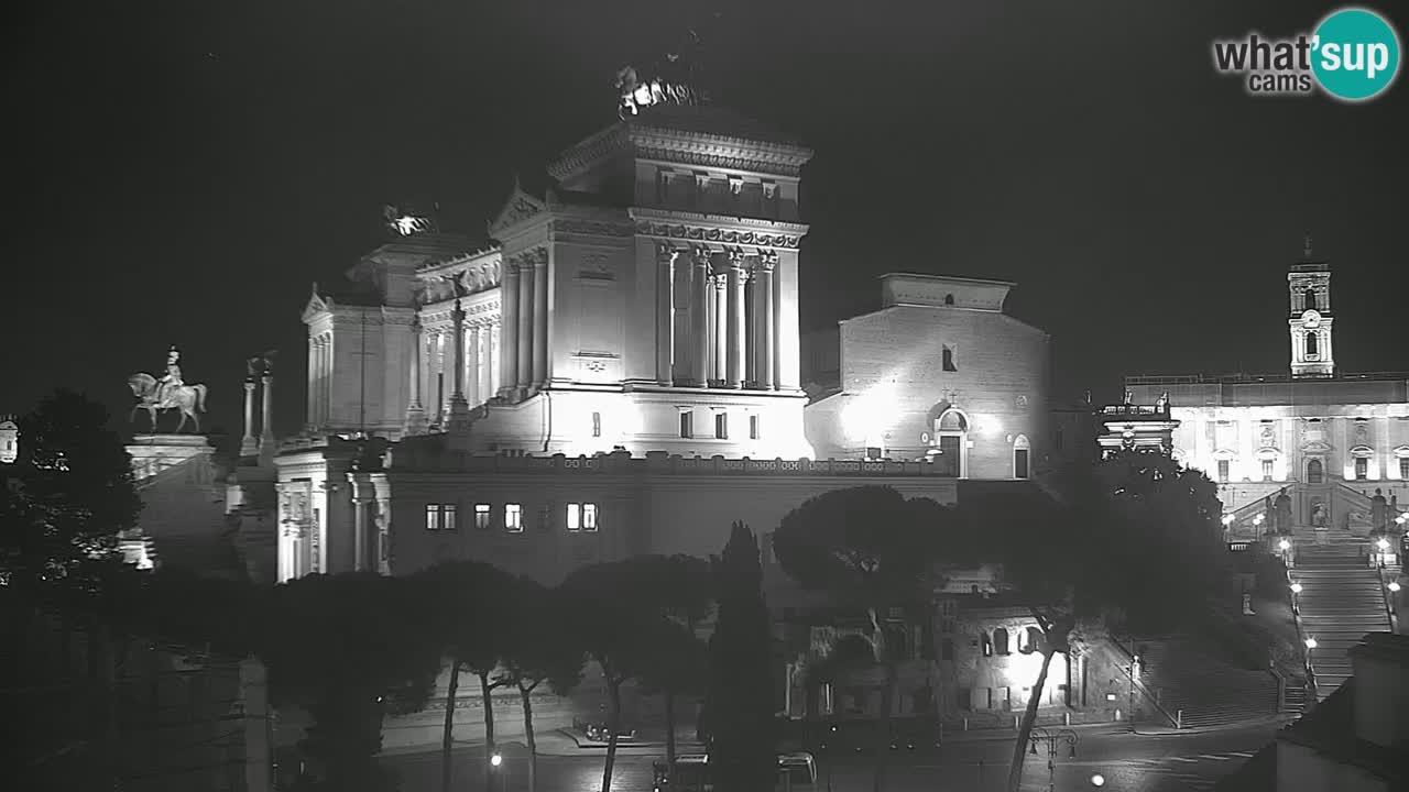Rom Webcam – Vittoriano – Altar des Vaterlands