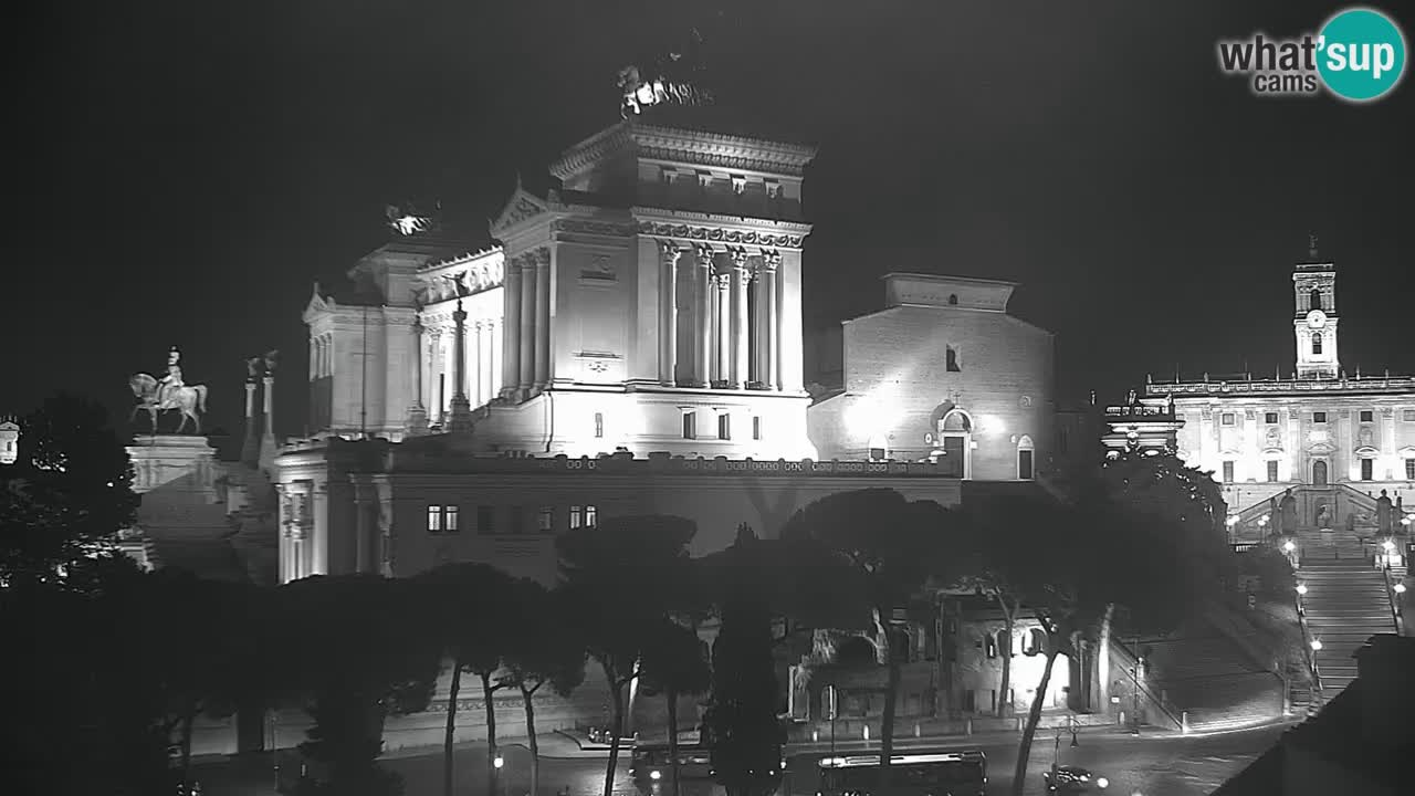 Rome Livecam – Vittoriano webcam – Altare della Patria