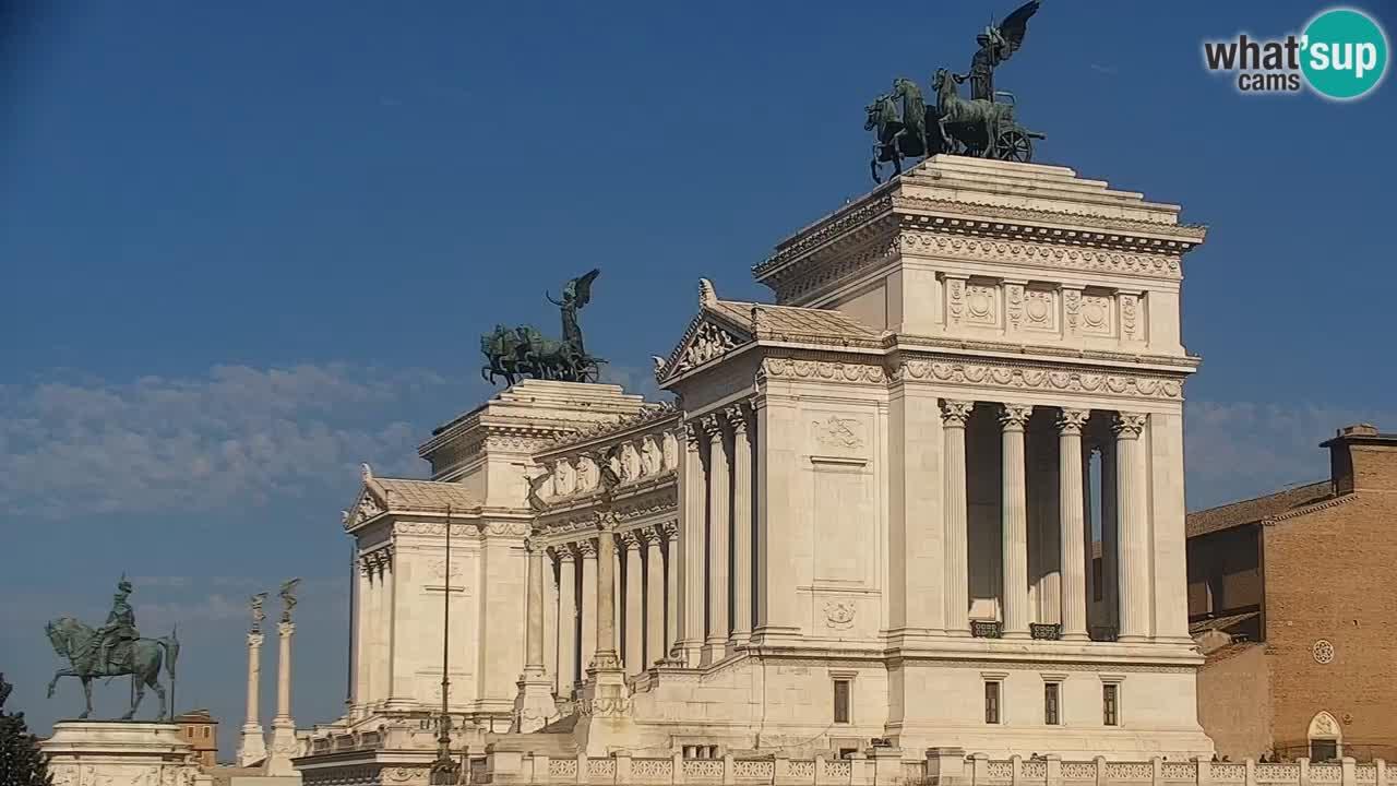Rome Livecam – Vittoriano webcam – Autel de La Patrie