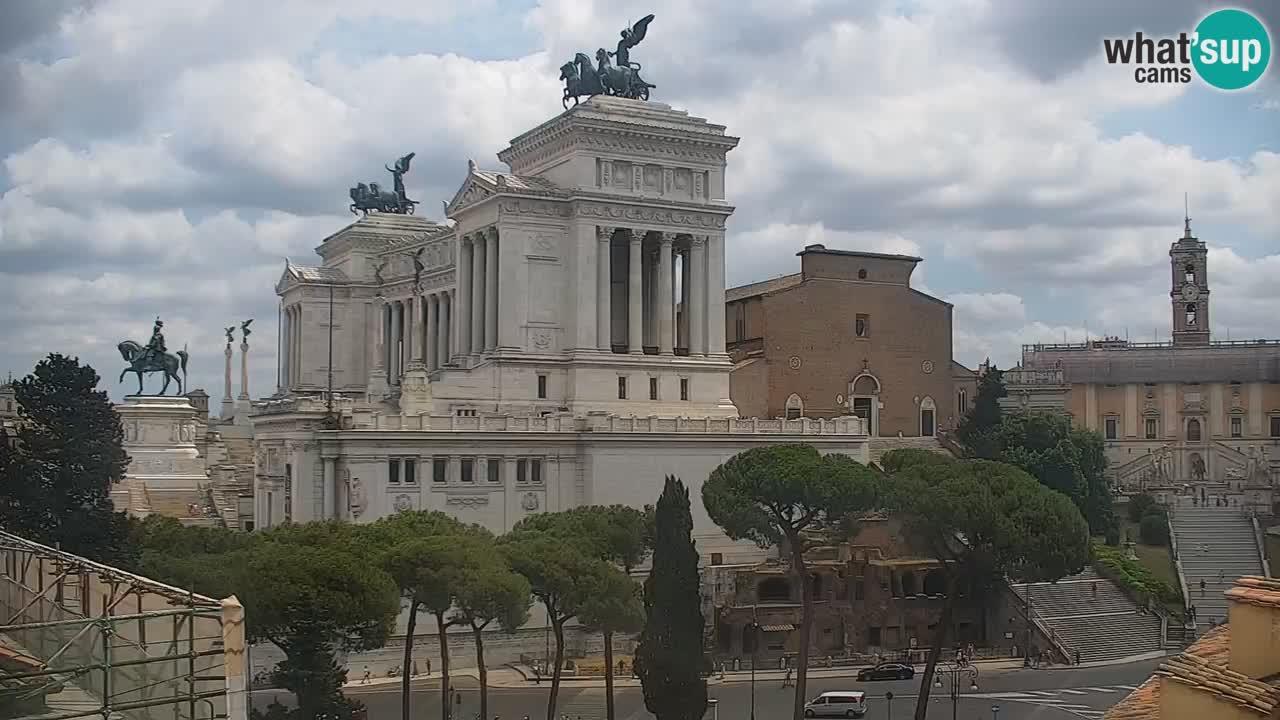 Roma Camera en vivo – Vittoriano webcam – Altare della Patria