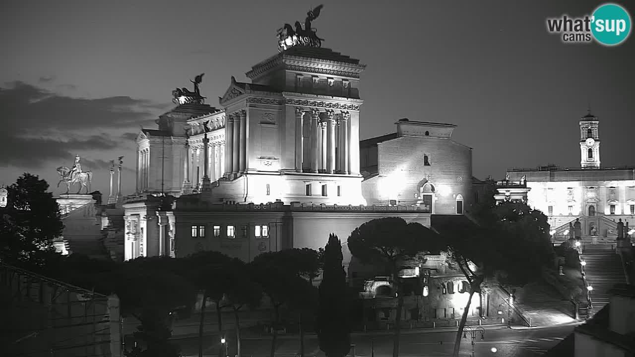 Rim Spletna kamera – Vittoriano – Oltar domovine