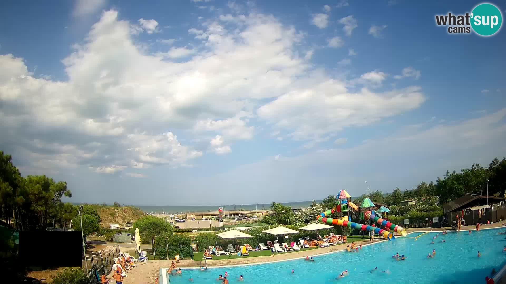 Camping Vittoria webcam en vivo Rosolina mare