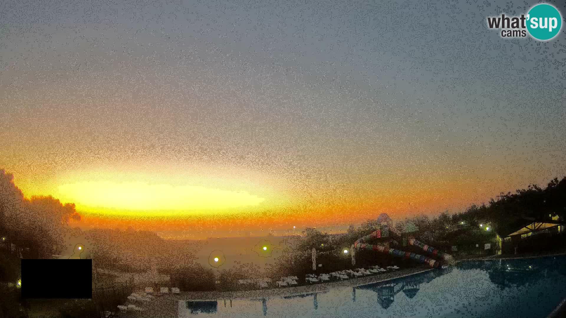 Camping Vittoria web kamera Rosolina mare