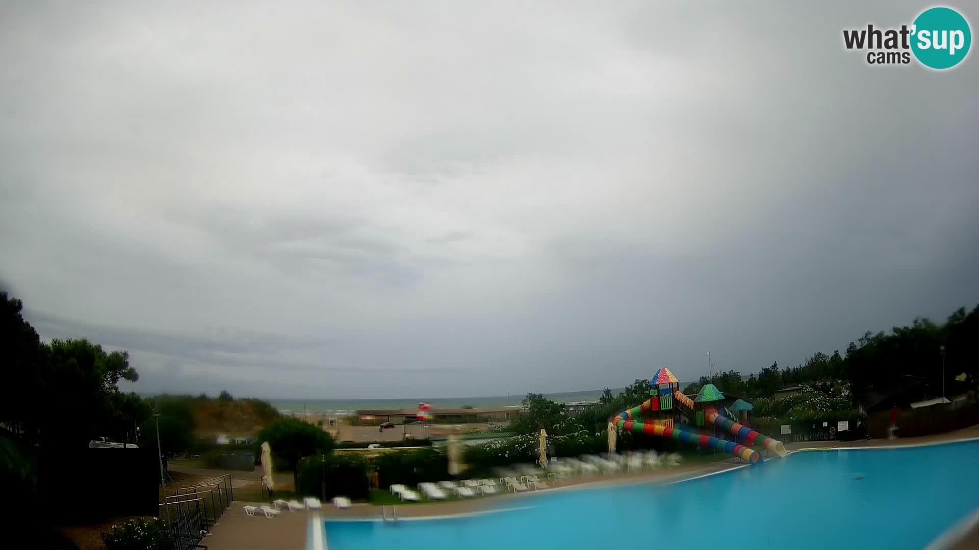 Camping Vittoria webcam Rosolina mare